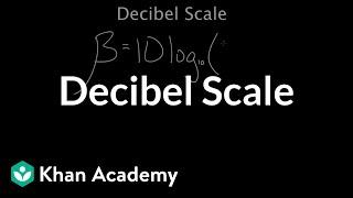 Dezibel-Skala | Mechanische Wellen und sound | Physik | Khan Academy