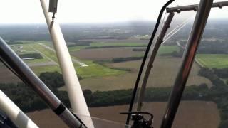 landing at st elmo