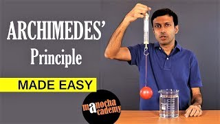 Archimedes' Principle: Made EASY | Physics