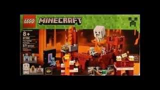 Lego Minecraft Nether Fortress Teaser - Brick Boys Lego Show