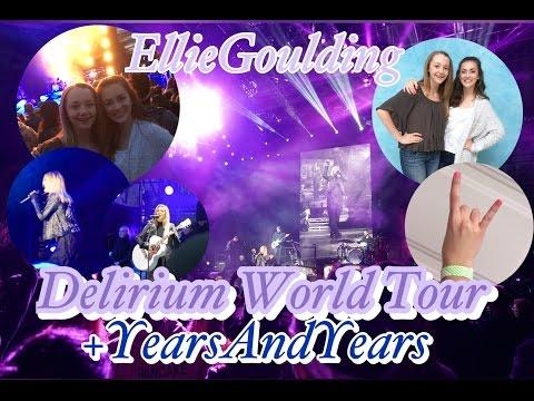 Ellie Goulding Delirium World Tour- My Concert Experience | Lauren's Lifestyle
