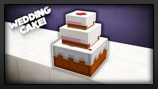 Minecraft - How To Make A Wedding Cake