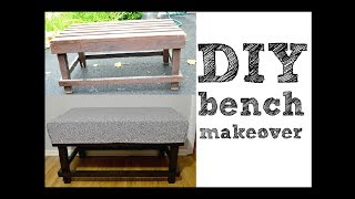 Diy Bench Makeover, Pintober #13