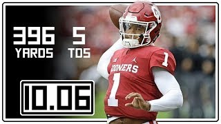 Kyler Murray Full Highlights Oklahoma vs Texas || 10.06.18 || 396 Total Yards, 5 TDs