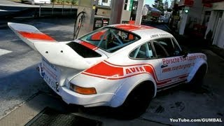 porsche 934 turbo with oversized wing