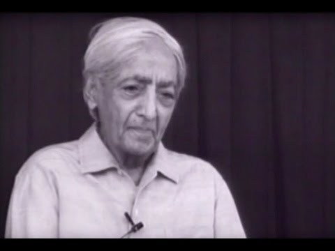 Can a marriage which did not start well become a positive force? | J. Krishnamurti