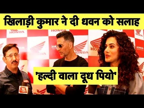 चोटिल Shikhar Dhawan को Akshay Kumar की सलाह हल्दी वाला दूध पियो | Sports Tak