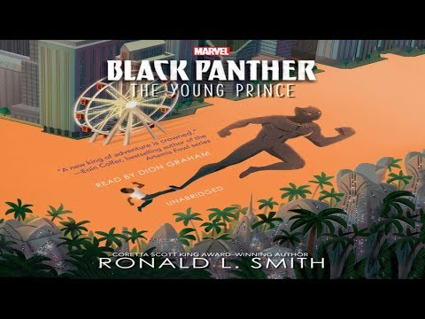 dion-graham-narrator-audiobooks.-audio-sample.-black-panther-by-ronald-l-smith