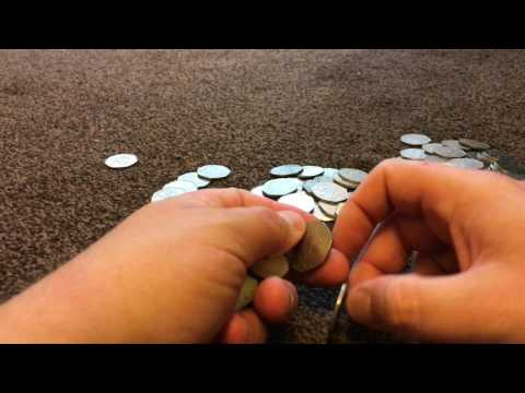 Coin Roll Hunt for Kew Gardens 50p 28/06/2017