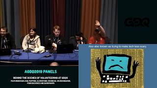 AGDQ 2019 Panels: Behind the Scenes of Volunteering at GDQs