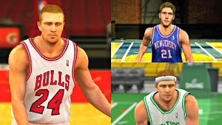 brian scalabrine from nba 2k5 to nba 2k12 white mamba ps4