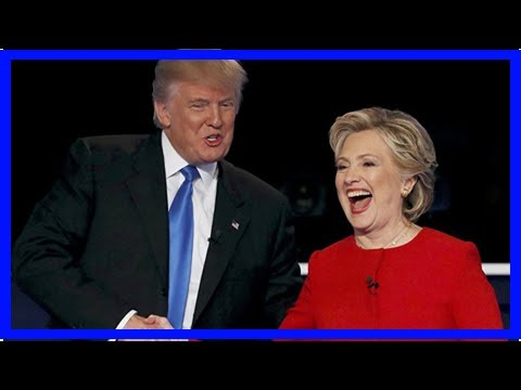 News today-it must be love? Hillary clinton said trump is obsessed with her