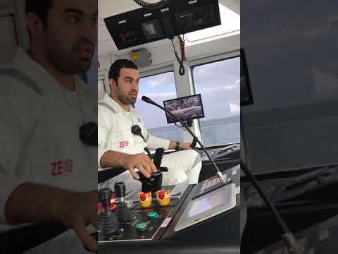 How ASD Tug Work with Capt Ahmed Elhaywan Arabic قبطان احمد الحيوان
