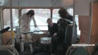 Tram Sessions - Detektivbyrån Plays on Transit in Sweden