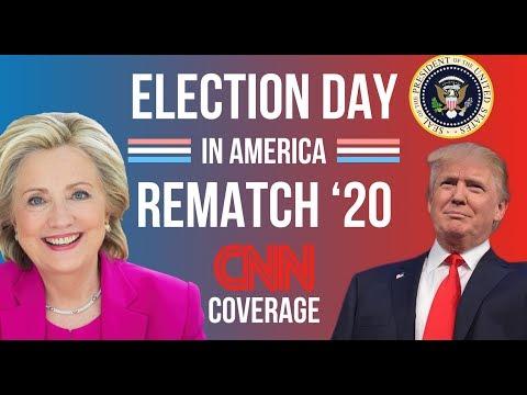 2020 Election Night | Hillary Clinton vs Donald Trump