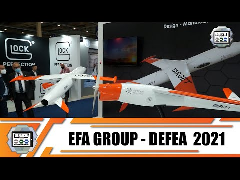 EFA Group DEFEA 2021 Greek defense industries for Aerospace Land Security Modern Military Technology