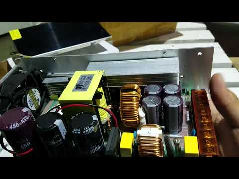 60 Volts / 20 Amps Power Supply Teardown Look Inside