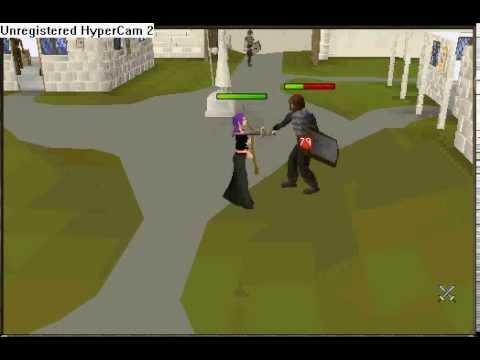 Runescape Scythe (Halloween 2003) Video