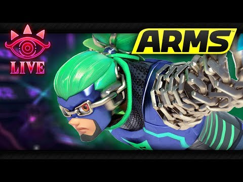 ARMS & MK8 ONLINE! (LIVE)