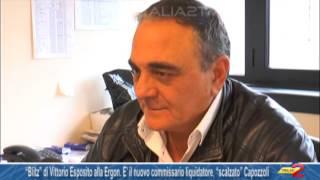 """""""Blitz"""" di Vittorio Esposito alla Ergon  E' il nuovo commissario liquidatore, """"scalzato"""" Capozzoli"""