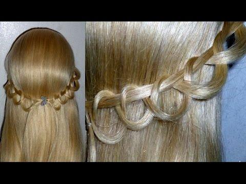 Flechttechniken. Einfache Frisuren. Haarband Frisur selber machen. Easy Hairstyle.Peinados