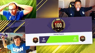 YOUTUBERS CAUGHT CHEATING WITH THE NO LOSS GLITCH (40/40) EXPLAINED!! FIFA 18 FUT CHAMPIONS