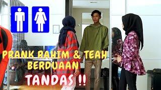 RAHIM & TEAH DALAM TANDAS ?! - PRANK AIRA & AMIR M4RAH !!