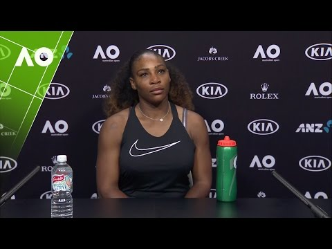 Serena Williams press conference (2R) | Australian Open 2017