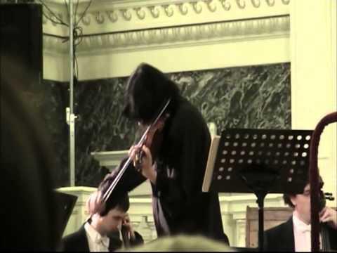 Prokofiev Violin Concerto № 2 Maxim Fedotov Violin St.Petersburg Capella
