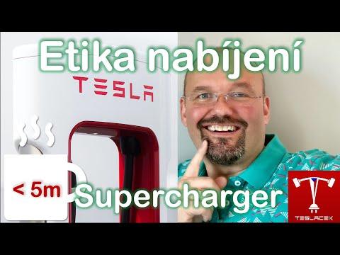 #173 Etika nabíjení Tesla Supercharger (SCH) | Teslacek