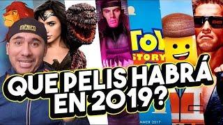 Estrenos 2019, no puedo esperar!: ToyStory4, Minecraft, Vengadores4, ReyLeon, MujerMaravilla2 y más