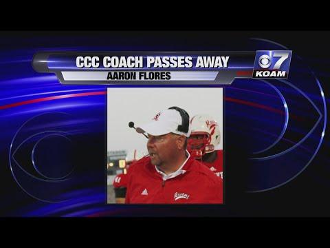 Coffeyville community college football coach passes away