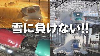 雪に負けない!! 新幹線(東海道・上越・東北・山形・秋田・北陸新幹線) thumbnail