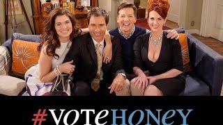 "[Legendado] Will & Grace - #VoteHoney - ""Hot Food"""