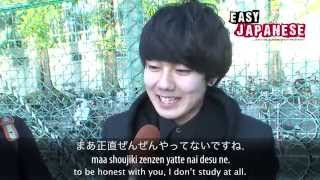 Easy Japanese 5 Student Life