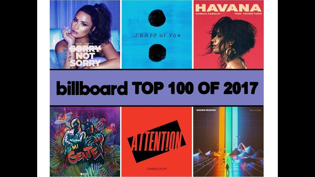 Billboard Top 100 of 2017 (USA Year-End Chart)
