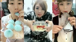 Most Satisfying Ice Eating ASMR Videos | Eat and Drink Compilation #24