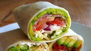 3 Healthy Tortilla Wrap Recipes | Easy No Cook Meals
