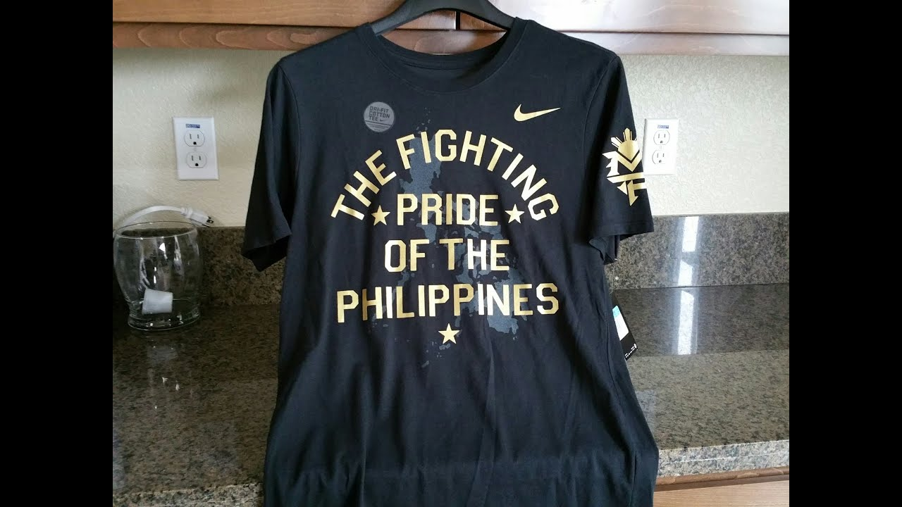 0f1f6b4ea276 Nike - The Fighting Pride of the Philippines - Manny Pacquiao T Shirt