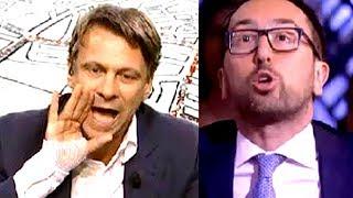 Reddito cittadinanza per lazzaroni grillini  :  Porro massacra il nerd Bonafede pupillo di Di Maio