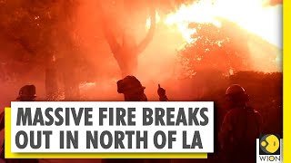 California bush fire scorches over 10,000 acres of land | World News