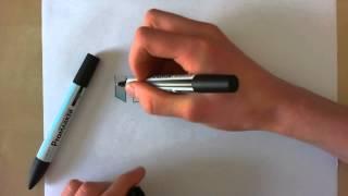 """Mini tuto #1 : Dégrader une couleur promarker vers le blanc avec le """"blender"""" (débutant) [HD]"""