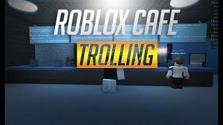 ROBLOX CAFE TROLLING AS AN EMPLOYEE // UnraisedPlanet
