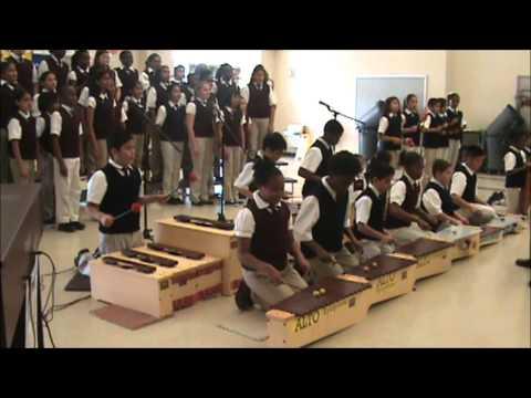 Park Lakes Elementary Percussion Ensemble 2014- ORANGE JUICE