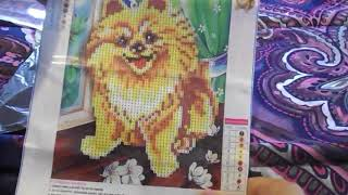 China Mail Haul: Amazon & Wish Diamond Paintings
