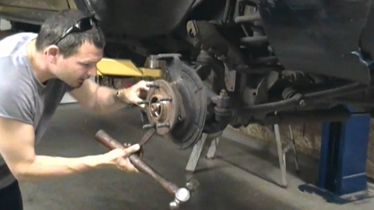 1995 Ford F150 Front Suspension Diagram Mitsubishi Pajero Electrical Wiring Dodge Ram Axle U Joint And Hub Replacement How To 4x4 4 Wheel Drive - Youtube