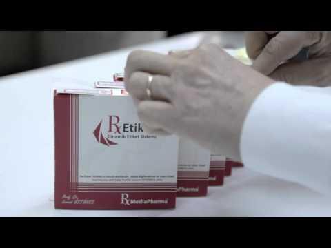 RxMediaPharma® RxEtiket® Dinamik Etiket Sistemi