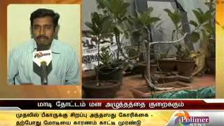 Home Garden training at TN Agriculture University