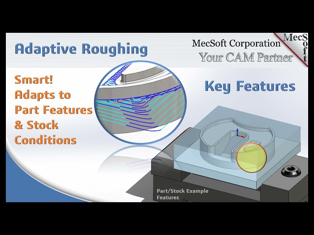 Adaptive Roughing From MecSoft Corporation