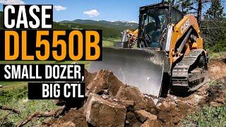 Case CE Unveils DL550B: 2in1 Machine Both Small Dozer & Powerful CTL (Project Minotaur)